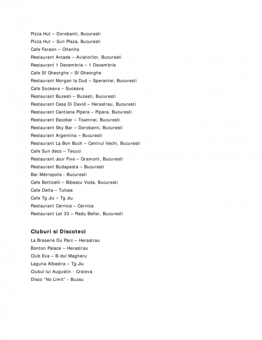 Pagina 3 - Sisteme audio  Lucrari, proiecte Romana nt Azzurro – Afi Cotroceni, Bucuresti...