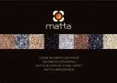Covor decorativ din piatra MATTA