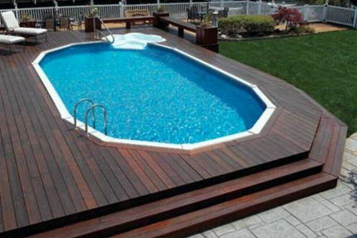 Pardoseli compozit in jurul piscinei Decolandia - Poza 25