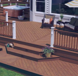 Deck-uri compozite pentru terase, platforme si amenajari exterioare Decolandia