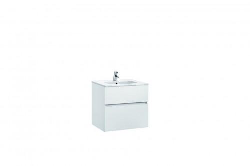 Mobilier Jade 60 cm alb cu lavoar Smile GALA - Poza 3