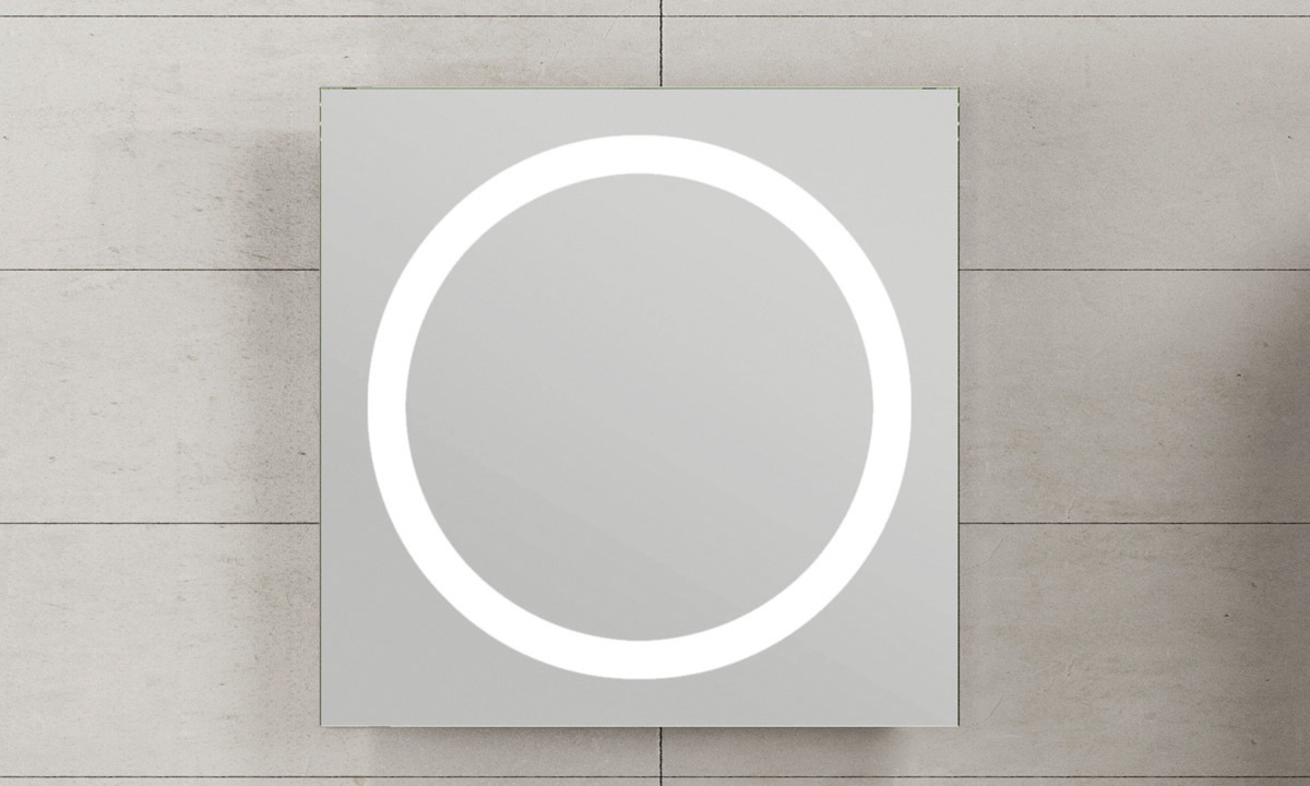 Oglinda cu lumina rotunda CUARZO 3C GALA - Poza 5