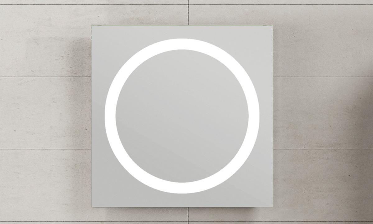 Oglinda cu lumina rotunda CUARZO 2C GALA - Poza 5