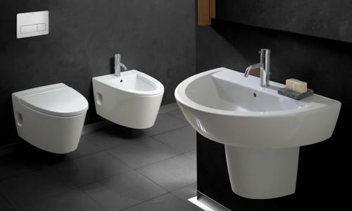 Obiecte sanitare - Colectia ARQ 13A WC-Bideu Suspendat GALA - Poza 3