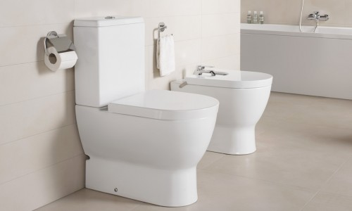 Obiecte sanitare - Colectia EMMA ROUNDED - BTW WC-Bideu-12 GALA - Poza 5
