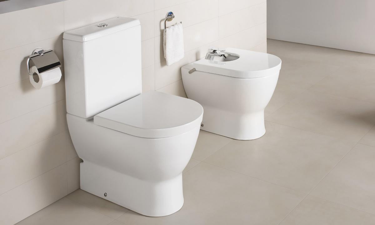 Obiecte sanitare - Colectia EMMA ROUNDED - BTW WC-Bideu-12B GALA - Poza 7