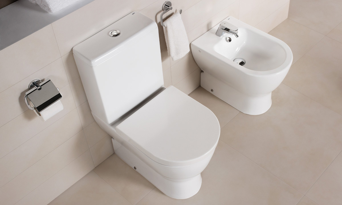 Obiecte sanitare - Colectia EMMA ROUNDED - BTW WC-Bideu-12E GALA - Poza 10