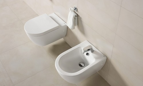 Obiecte sanitare - Colectia EMMA ROUNDED - BTW WC-Bideu Suspendat-12A GALA - Poza 12