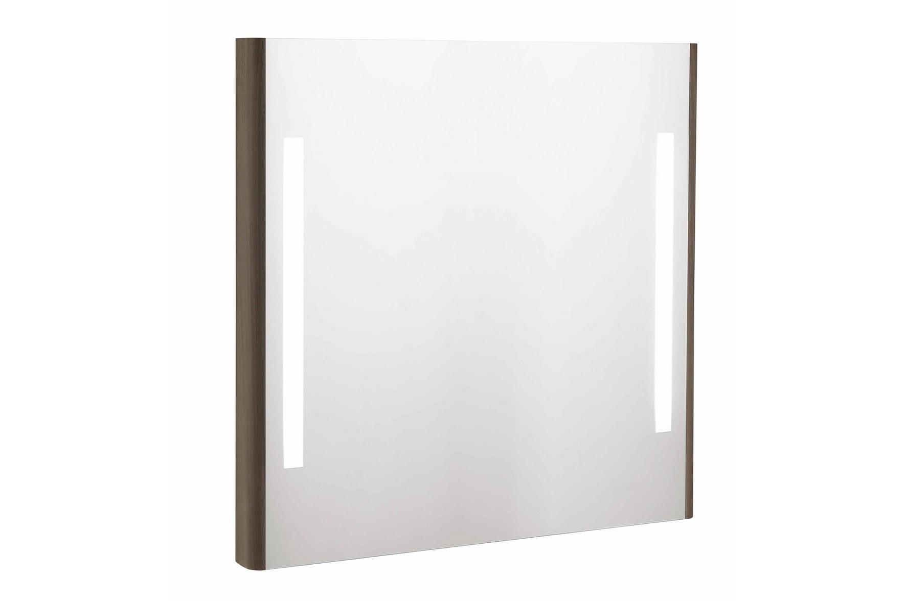 Oglinda cu lumini emma 80x80 cm- antracit - EMMA ROUNDED GALA - Poza 5