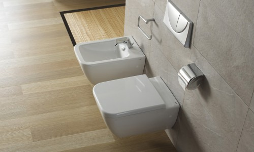 Obiecte sanitare - Colectia EMMA SQUARE WC-Bideu Suspendat 11A GALA - Poza 13