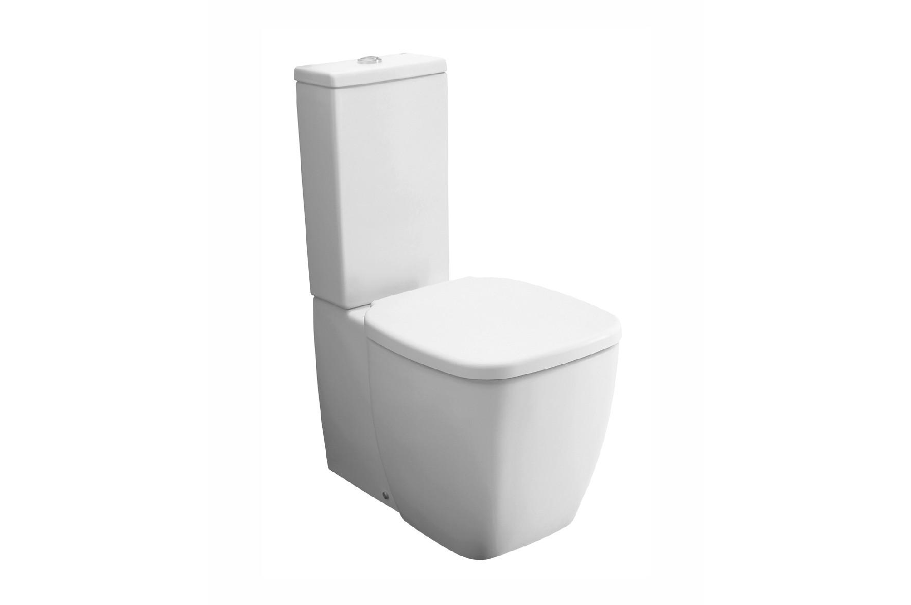 Prezentare produs vas wc cu rezervor extins universal for Tapa wc gala universal