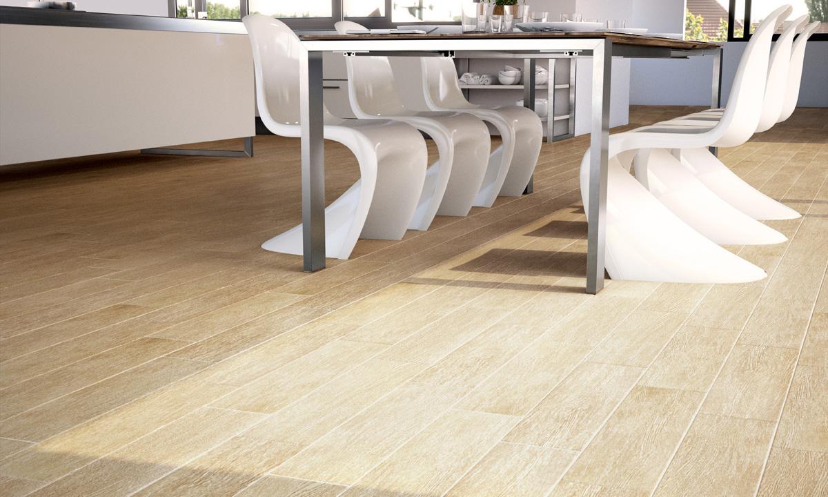 Exemple de utilizare placi ceramice colectia tahoe gala poza 3 - Suelos ceramicos imitacion madera ...