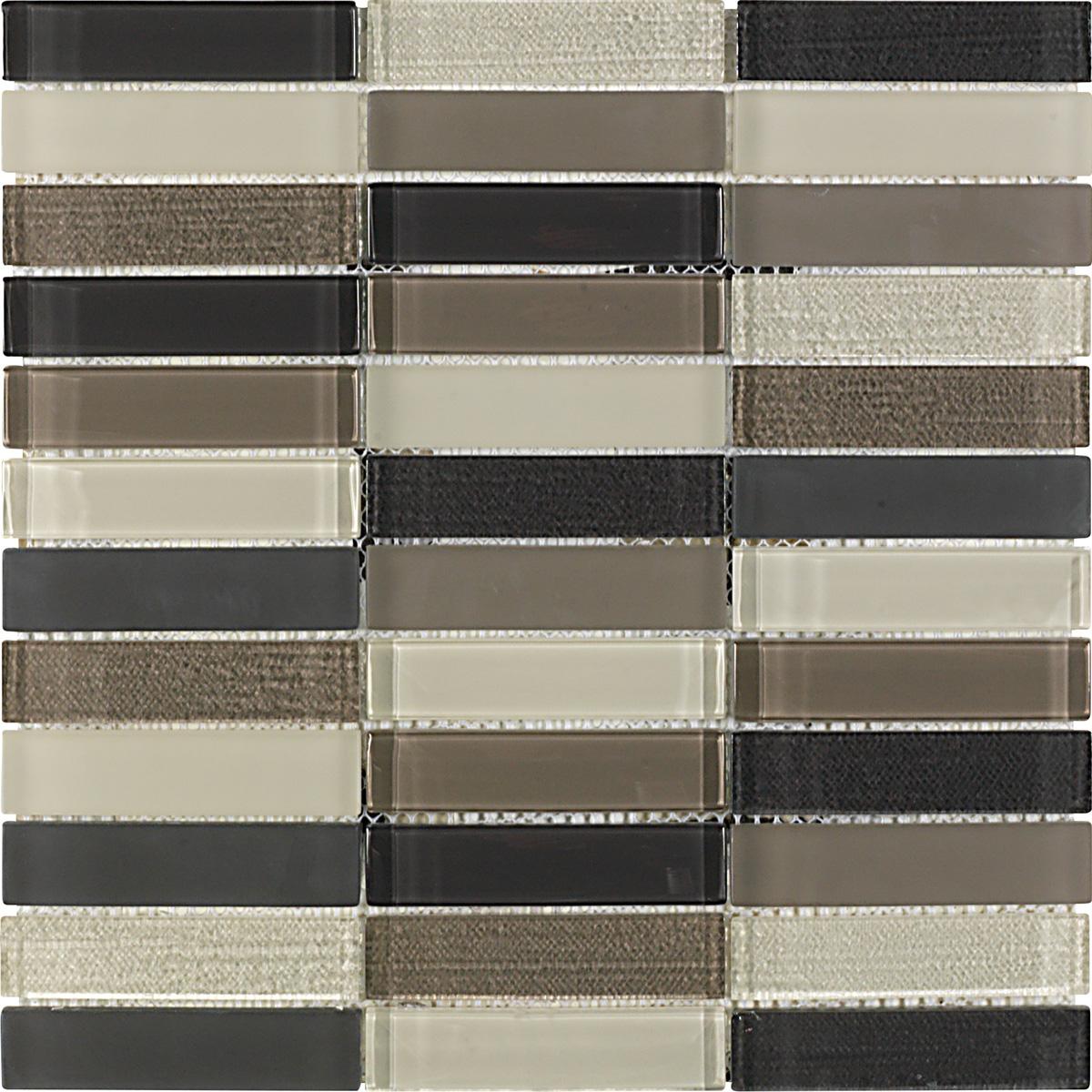 Mozaic pe plasa - Murano gris 30x30 GALA - Poza 5