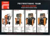 Echipamente pentru aplicare termoizolatii din spuma poliuretanica si poliuree GAMA