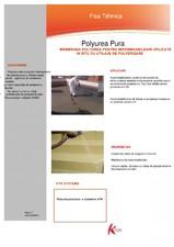 Membrana polyurea pentru impermeabilizari aplicate in situ cu utilaje de pulverizare Krypton Chemicals