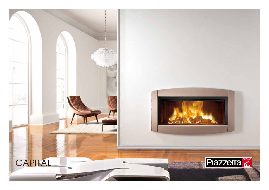 Pagina 1 - Semineu design Piazzetta Capital Fisa tehnica Engleza CAPITAL Gas or wood-burning...