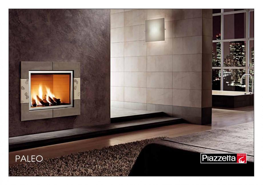 Pagina 1 - Semineu design Piazzetta Paleo Fisa tehnica Engleza PALEO Gas fireplace with hand-worked...