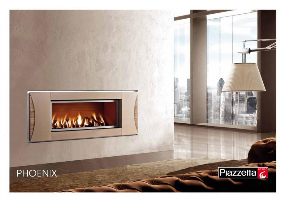 Pagina 1 - Semineu design Piazzetta Phoenix Fisa tehnica Engleza PHOENIX Gas or wood-burning...