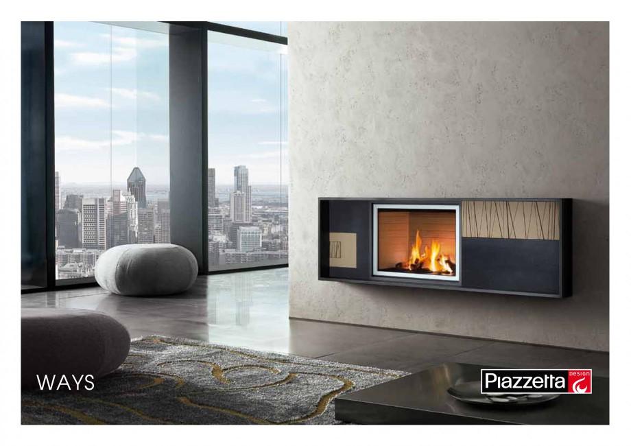 Pagina 1 - Semineu design Piazzetta Ways Fisa tehnica Engleza WAYS Gas fireplace with hand-worked...