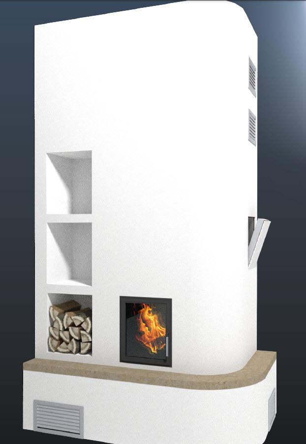 Prezentare produs Model de constructie a imbracamintii unui semineu folosind placile Grenaisol Grena - Poza 11