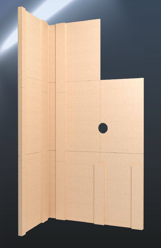Prezentare produs Model de constructie a imbracamintii unui semineu folosind placile Grenaisol Grena - Poza 1