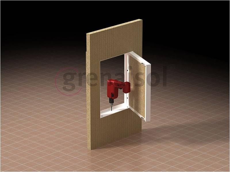 Prezentare produs Model de constructie a usii de vizitare a semineului  Grena - Poza 3
