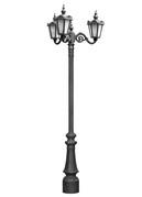 Stalp ornamentali pentru iluminat City 3FSE | Stalpi ornamentali pentru iluminat stradal, parcuri, gradini |