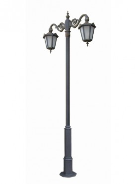 Prezentare produs Stalpi ornamentali pentru iluminat stradal, parcuri, gradini BRAMAL LIGHT - Poza 14