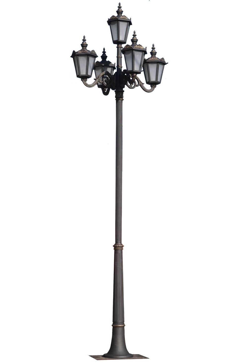 Stalpi ornamentali pentru iluminat stradal, parcuri, gradini BRAMAL LIGHT - Poza 24