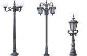 Stalpi ornamentali pentru iluminat stradal, parcuri, gradini Bramal Light ofera stalpi si stalpisorii ornamentali de iluminat stradal, parcuri, gradini, fabricati din aliaje dure de aluminiu, necorosive.