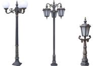 Stalpi ornamentali pentru iluminat stradal, parcuri, gradini BRAMAL LIGHT