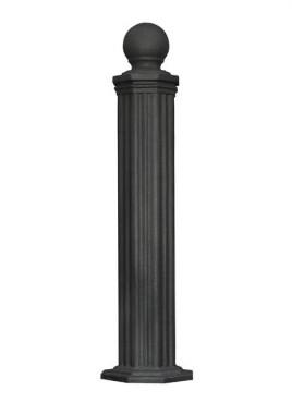 Prezentare produs Stalpi ornamentali de protectie si delimitare BRAMAL LIGHT - Poza 6