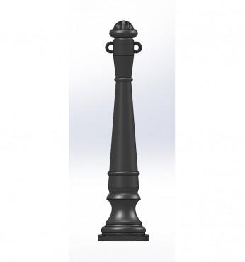 Prezentare produs Stalpi ornamentali de protectie si delimitare BRAMAL LIGHT - Poza 2