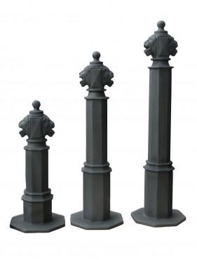 Prezentare produs Stalpi ornamentali de protectie si delimitare BRAMAL LIGHT - Poza 3