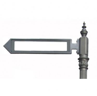 Prezentare produs Stalpi pietonali pentru indicatoare stradale BRAMAL LIGHT - Poza 5