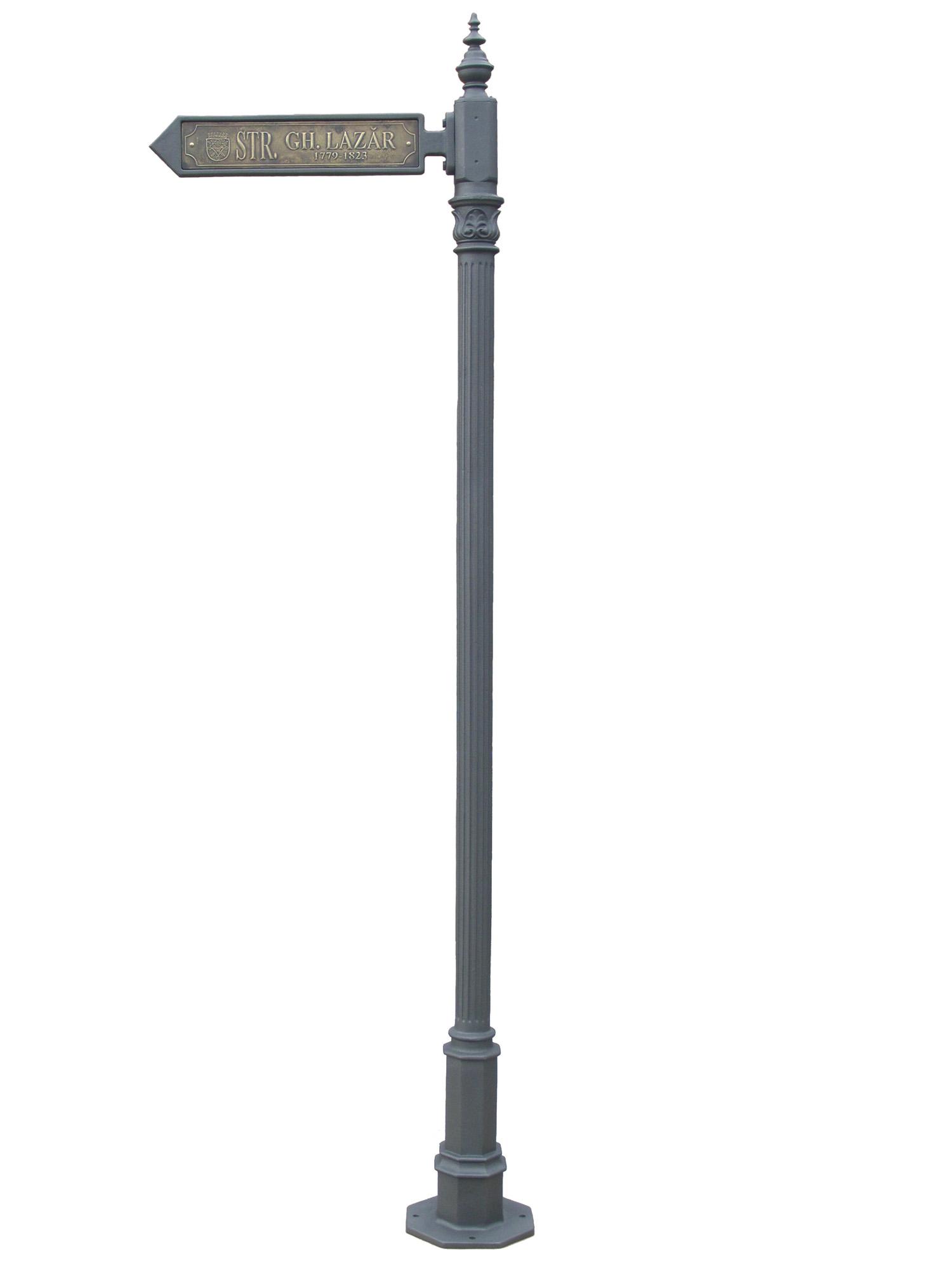 Stalpi pietonali pentru indicatoare stradale BRAMAL LIGHT - Poza 3