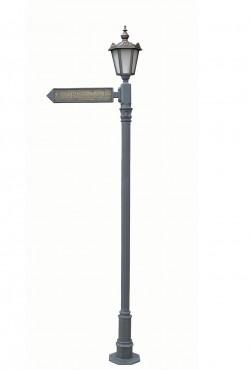 Prezentare produs Stalpi pietonali pentru indicatoare stradale BRAMAL LIGHT - Poza 4