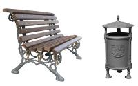 Mobilier pentru gradina, parcuri BRAMAL LIGHT produce mobilier urban cu design unic, precum banci, cosuri de gunoi, jardiniere. Produsele sunt realizate aliaje dure de aluminiu, necorosive.