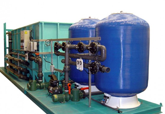 Statii de tratare a apei de suprafata ECO AVANGARD