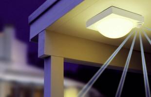 Aplice si plafoniere cu senzori de miscare STEINEL ofera o gama variata de aplice cu senzori si plafoniere cu senzori de miscare pentru interior cat si pentru exterior.