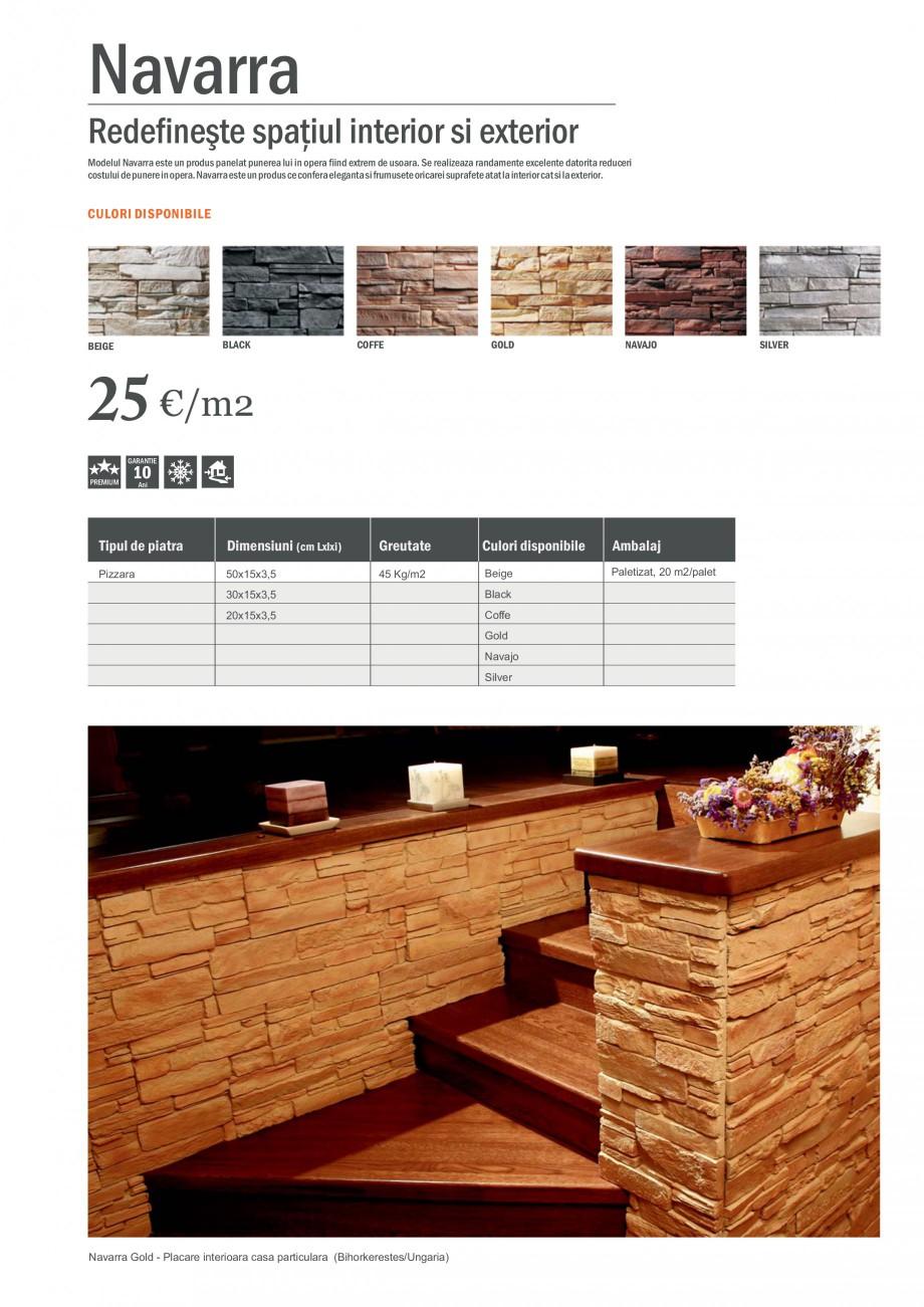 fisa tehnica piatra decorativa pentru placari interioare sau exterioare navarra star stone. Black Bedroom Furniture Sets. Home Design Ideas