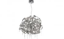 Lustre FARO ofera 5 modele de lustre fabricate din otel, aluminiu cu un design invoator ce lumineaza spatiul omogen si ofera incaperii un plus de design.