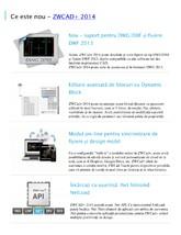 Software de proiectare - Noutati ZWCAD