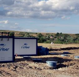 Statii si microstatii de epurare pentru purificarea apelor uzate CRIBER