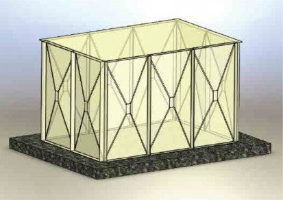 Rezervoare modulare rectangulare Rezervoare modulare rectangulare Rezervoare modulare rectangulare