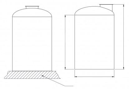 Schita Rezervoare verticale Rezervoare verticale