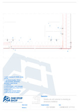 Caseta structurala din tabla de otel - detaliu colt exterior OSS