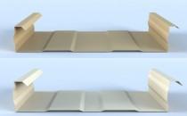 Casete structurale Profile de tip caseta structurala din tabla de otel structural ALCOA, pentru pereti de fatada, suport pentru fatadele exterioare decorative si pentru termoizolatia din vata minerala.