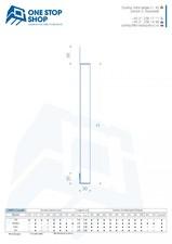 Profil casetat pentru fatade ventilate, cu montaj reglabil si prinderi ascunse OSS