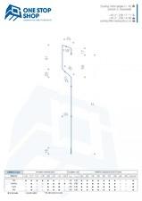 Profil lamelar pentru fatade ventilate, cu montaj cuplat si prinderi ascunse OSS